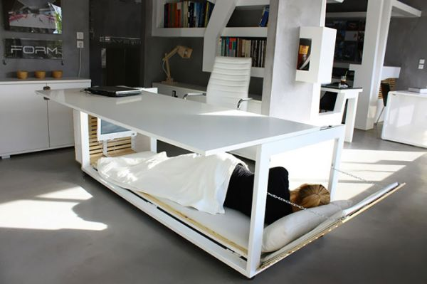 The Ingenious Desk Convertible Bed Perfect For Small Spaces