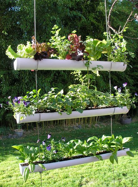 creative multiple levels - Creative Garden Ideas For Small Spaces