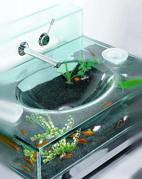 Aquarium Headboard 13 unexpected aquarium design ideas