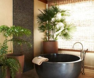 10 Round Bathtub Design Concept And Decors That Go With Them