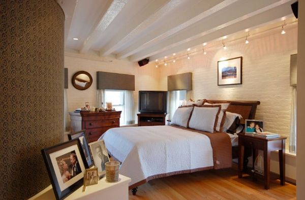 track lighting in bedroom. Brilliant Track Bedroom Accent Walls On Track Lighting In Homedit