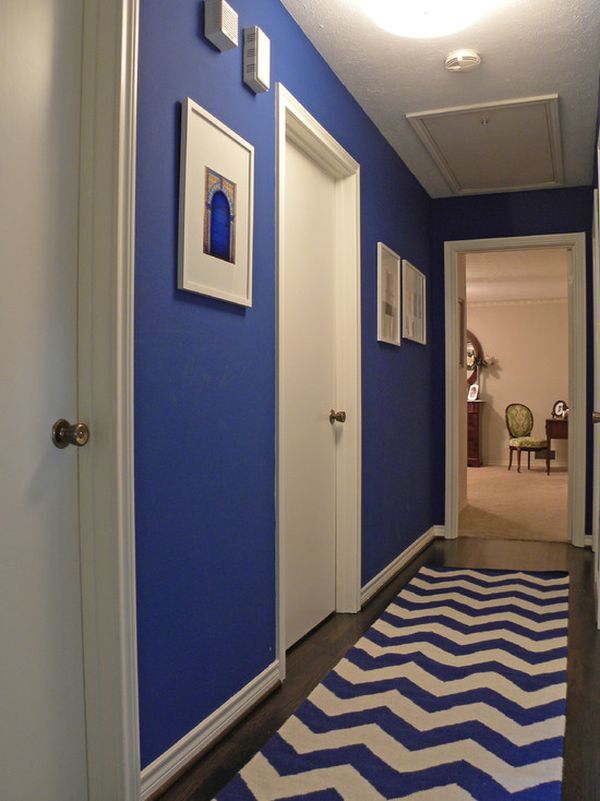 A few ways to enhance the beauty of your hallway - Ideas para pintar un pasillo ...