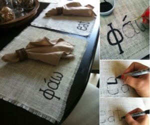 10 Chic DIY Burlap Projects