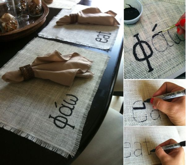 10 Chic DIY Burlap Projects Photo