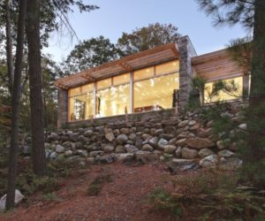 A beautiful example of sustainable living and modern design in Canada