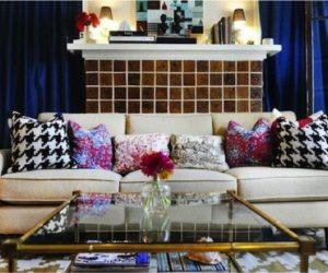 6 Ways To Use Houndstooth Around The House