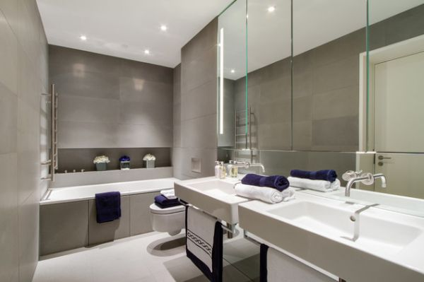 Merveilleux View In Gallery Modern And Contemporary Bathroom ...
