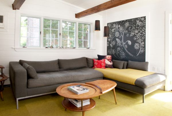 Modern living room designs that use corner units - What degree do you need to be an interior designer ...