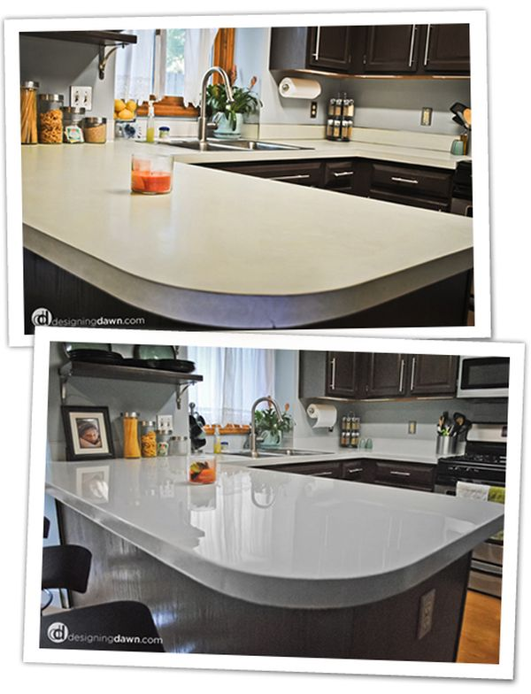 White Laminate Kitchen Countertops diy updates for your laminate countertops (without replacing them!)