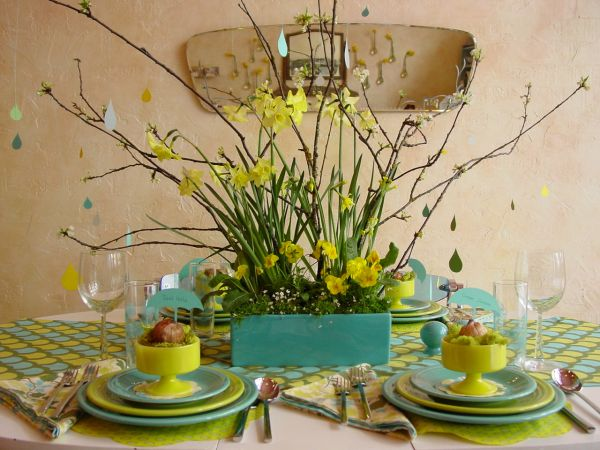 Spring Table Decorations 25 beautiful table centerpieces that are perfect for welcoming