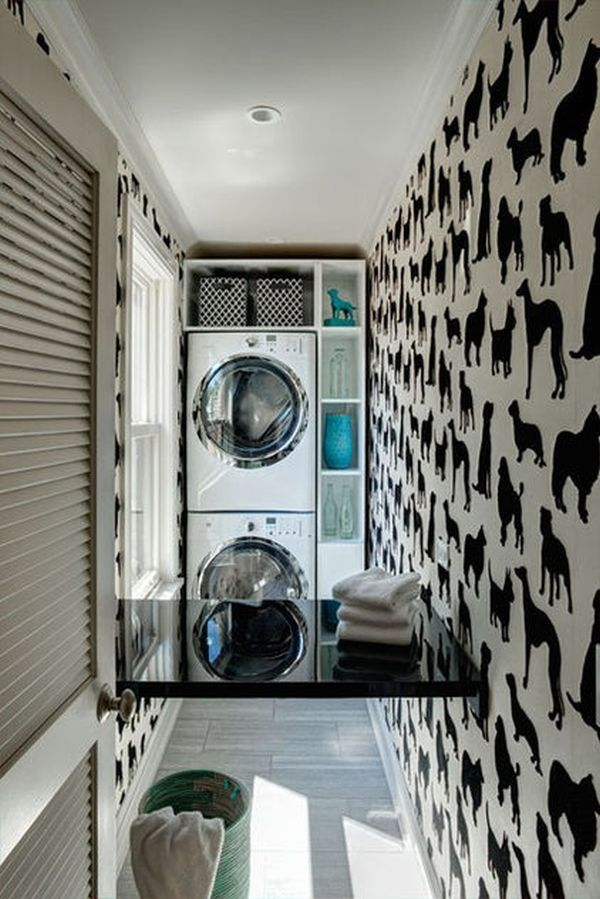 Charmant Laundry Space.