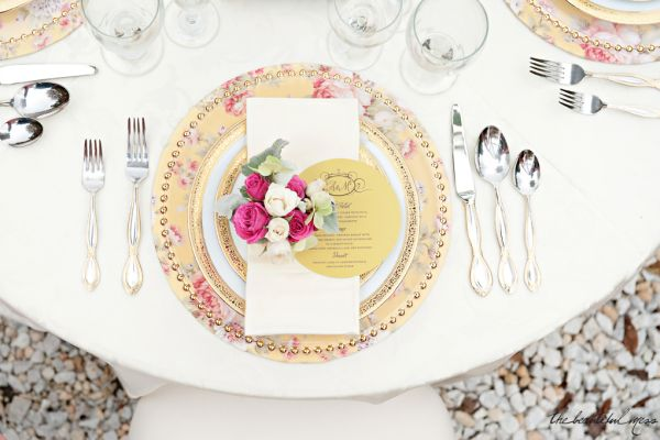 Spring Inspired Place Settings Ideas Inspiration