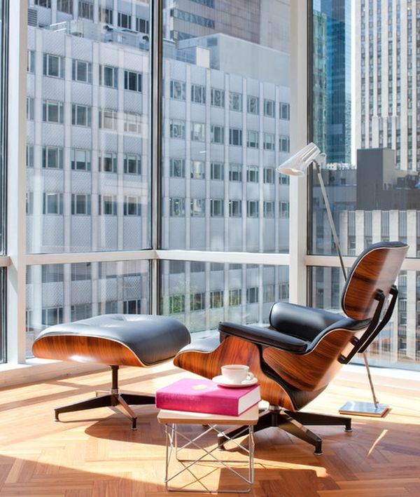 The Eames Lounge Chair.