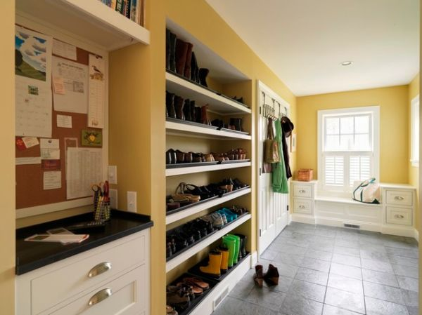 Perfect Laundry Room Storage.