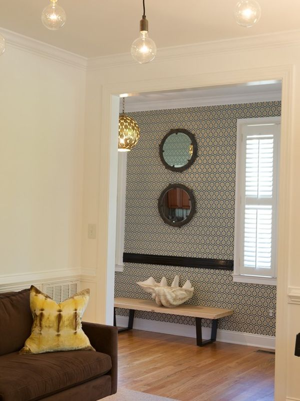 Foyer Wallpaper Designs : Choosing the right wallpaper for your space