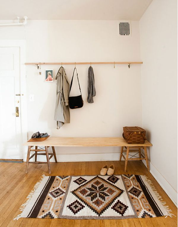 Foyer Closet Zone : Creating a stylish front door drop zone