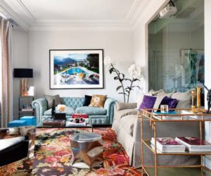 A Mesmerizing Mix Of Color, Texture And Light Captured In An Eclectic Madrid Residence