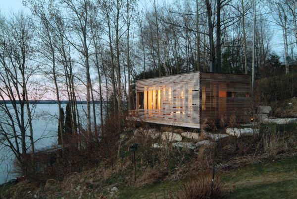 This Is The Sunset Cabin And Its An Option For Those That Prefer Something More Modern It Was Built In 2004 On A 275 Square Foot Area