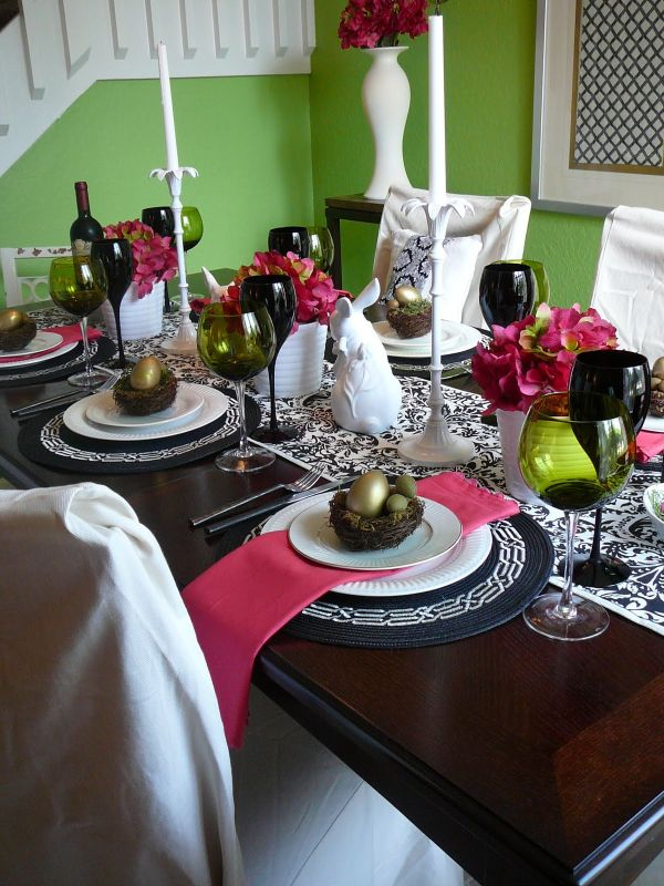 Dining Room Decorations Suitable For Easter