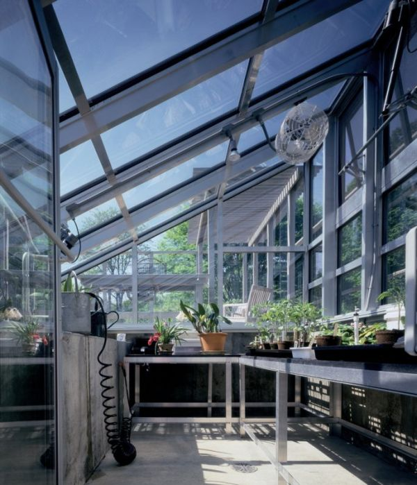 greenhouses as part of the home - Greenhouse Design Ideas