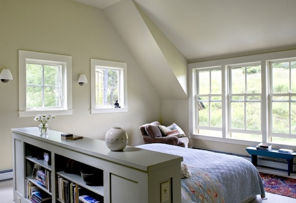 headboard alternative bookshelf