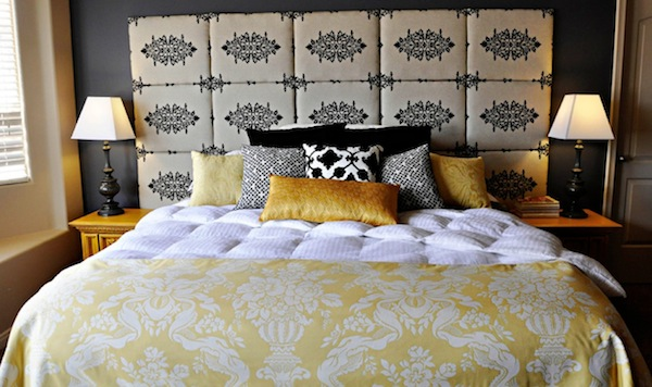 Headboard Alternative Fabric Panels