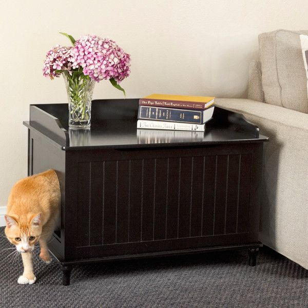 Best Cat Litter Boxes Roundup | Apartment Therapy. 21 Cool Furniture For  Pets