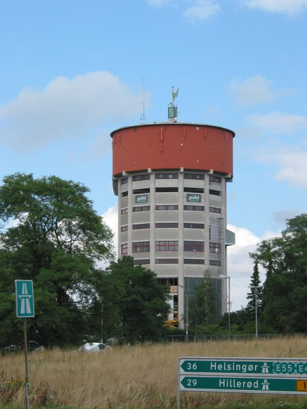 Amazing Jaegersborg Water Tower.