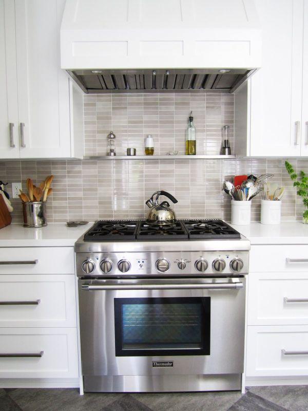 15 Backsplash shelves both practical and goodlooking
