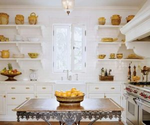 ... Tips For Making Open Kitchen Shelving Aesthetic AND Useful