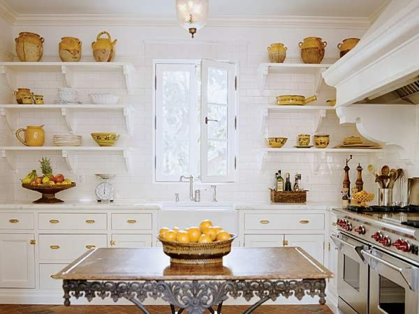 Tips for Making Open Kitchen Shelving Aesthetic AND Useful