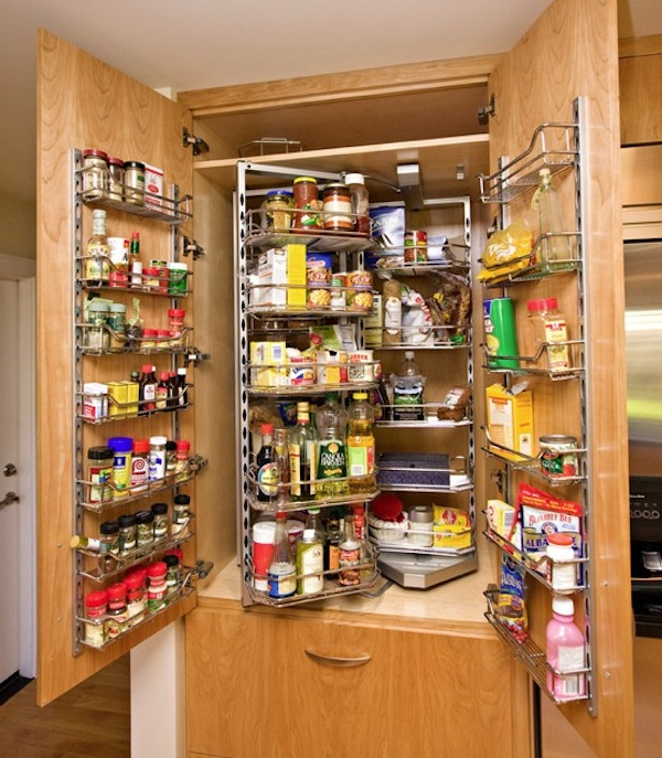 15 organization ideas for small pantries - Kitchen Pantries