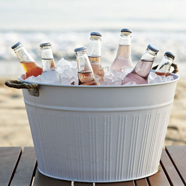 tub with tubs summer party stand metal beverage steel australia for drinks