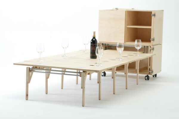 Mobile Dining Unit That Reveals A Surprisingly Large