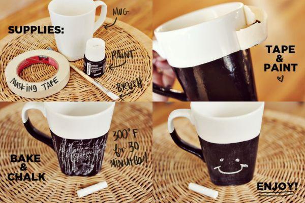 10 diy hand-painted mugs