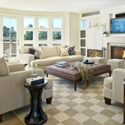 neutral interiors for kids and pets