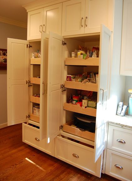 built in pantry cabinets for kitchen 15 organization ideas for small pantries 12673