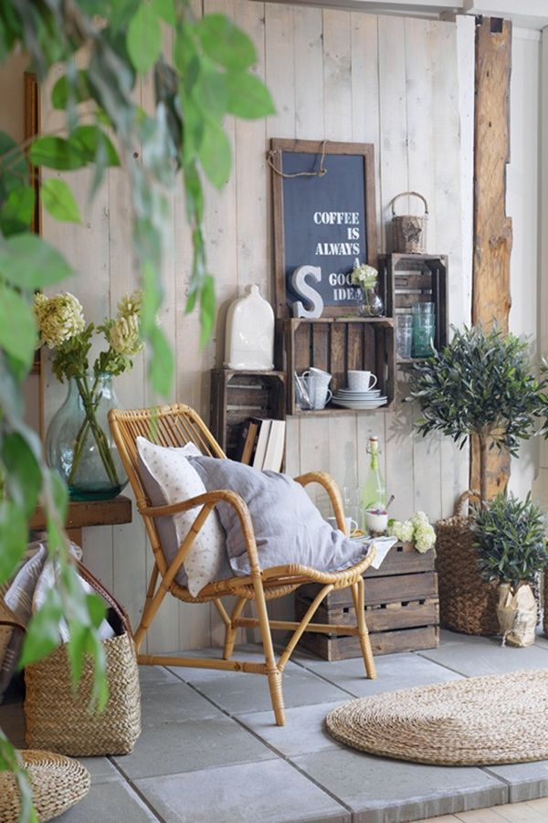 Cozy ideas to design your balcony - Cosy home deko ...
