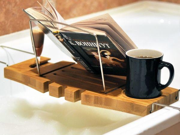 Bathtub Tray Wooden Diy