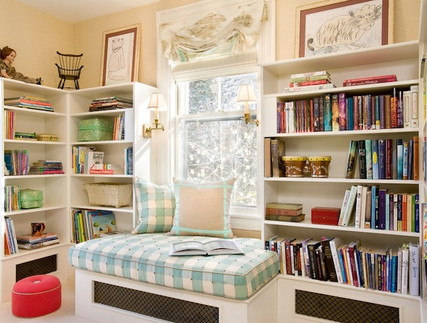 reading nook teenager idea