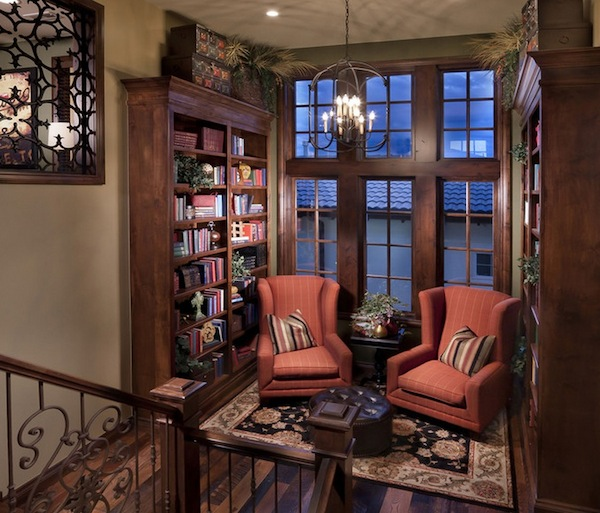 reading nook traditional