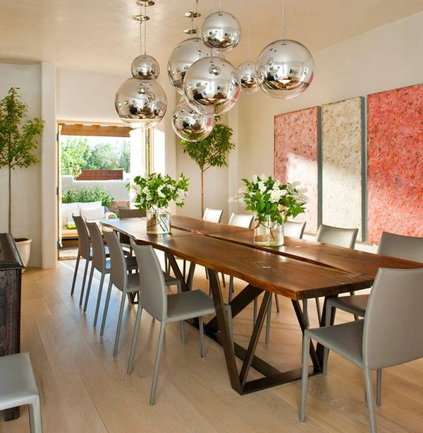 High Backed Seating. Modern Seating That Will Update Your Dining Room