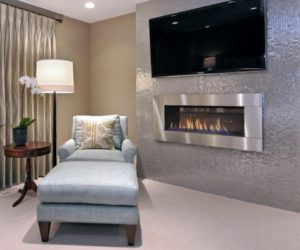 custom built fireplace ideas for a living room - Fireplace Tile Design Ideas