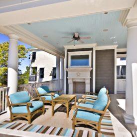 spring porch ceiling color