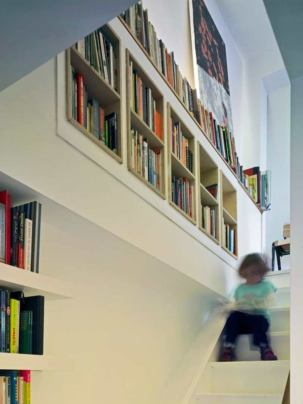 20 unusual books storage ideas for book lovers - Weird Bookshelves