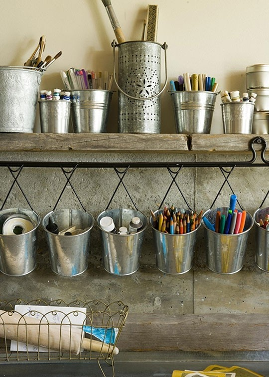 metal for crafts 23 creative ways of using buckets in interior and exterior dcor
