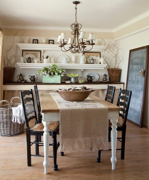 How To Use Runners In Traditional Dining Rooms