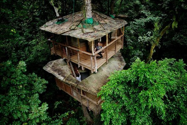 A stunning tree-house community built in Costa Rica