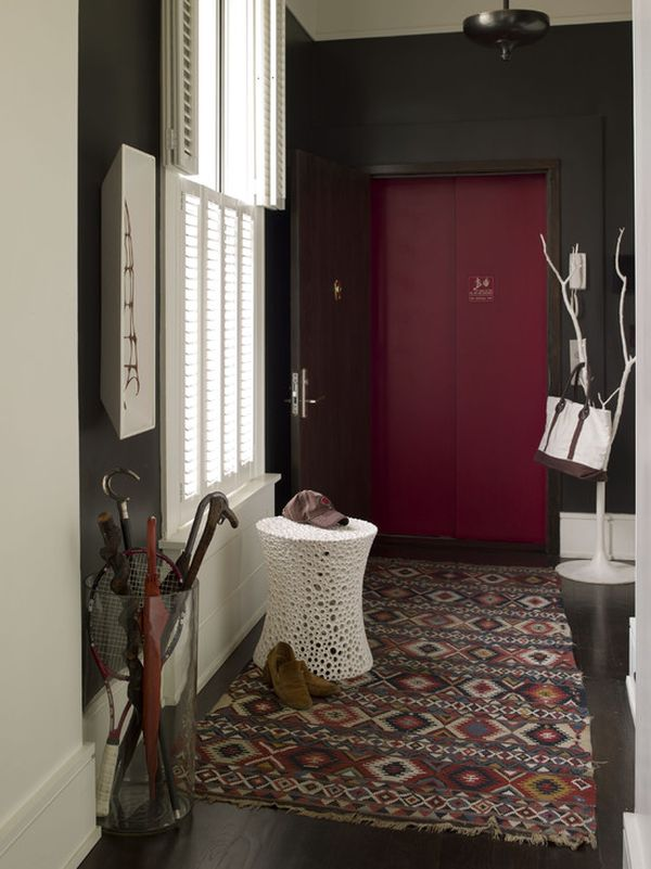 & Creating a Stylish Front Door u0027Drop Zoneu0027