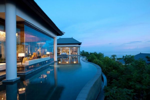 The Mesmerizing Ocean And Mountain Views Of The Banyan Tree Ungasan Bali Resort
